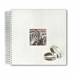 Safe 5830-9 Wedding Photo Album Holzeinband Nostalgia 36 White Pages 13x13in