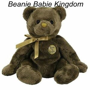 "Ty Beanie Babie Baby * HENRY * The Harrods UK Exclusive Teddy Bear 7"" RARE"