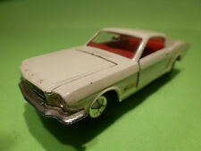 DINKY TOYS 1:43 - FORD MUSTANG    NO= 161  -  RARE - IN NEAR MINT CONDITION .