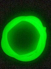 3.0mm Glow in the Dark Lumo Tube. Stretchy silicone tube. FREE POSTAGE!!