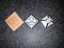 NEW 3D BOY SCOUT WEBELOS LEATHER STAMP