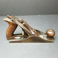 "STANLEY BAILEY No. 3 Vintage Smoothing 9-1/4"" Bench PLANE Tool U.S.A. 1910"