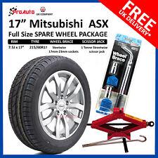 """Mitsubishi ASX 2010-2017 17"""" FULL SIZE ALLOY SPARE WHEEL & TYRE  + TOOL KIT"""