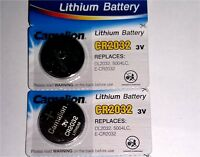 2x Batterie für Autoschlüssel Schlüssel Fernbedienung Funkschlüssel 2032 Cell