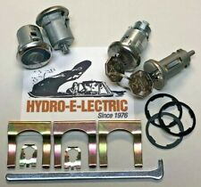 NEW 1966-1967 Impala & Caprice Ignition, Door & Trunk Lock Set- 1 Key system