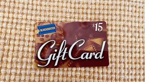 BLOCKBUSTER VIDEO GIFT CARD - $15 VINTAGE 2000 -NO VALUE ON CARD Collectible