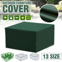 Waterproof Garden Patio Furniture Cover for Rattan Table Chair Cube Outdoor Park