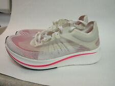 "Nike Zoom Fly SP ""Japan"" Women's Size 5 White Sail Running Shoes AJ8229-106"