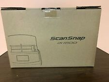 Fujitsu ScanSnap iX1500 Color Duplex Document Scanner - White