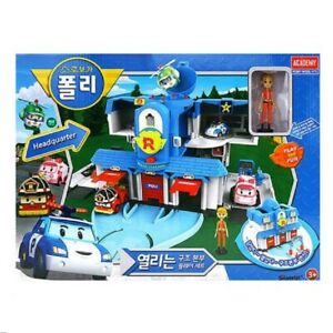 Robocar Poli Convertible Rescue Center Headquarter Play set