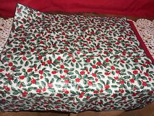 "Longaberger ~ 36"" REVERSIBLE CHRISTMAS CLOTH!    A+ COND!   BUY IT NOW!   L@@K!"
