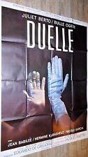 DUELLE ! jacques rivette bulle ogier affiche cinema  vintage 1976