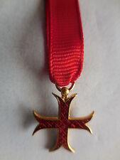 croce mignon da cavaliere venerabile Ordine del Santo Sepolcro di Seborga