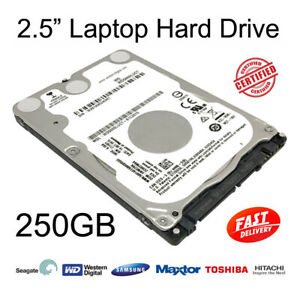 """250GB 2.5"""" SATA Internal Hard Disc Drive HDD for Dell Latitude D620 Laptop"""