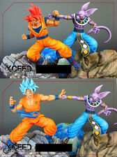XRS XCEED Dragon ball resin Goku god vs beerus