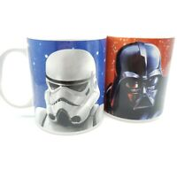 Set Of 2 Star Wars Galerie Coffee Mugs Cups Darth Vader and Storm Trooper