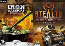 Hierro Wariors T72 Tanque Command & Stealth COMBAT ULTIMATE WAR Nuevo y Sellado