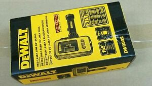 DEWALT DW0892 RED LASER Digital Laser Line Detector + Detector Clamp, Red Laser