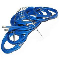 Lambretta Vijay Super Friction Free Control Cable Kit Blue GP LI TV SX S3 CAD