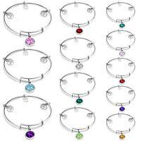 High Quality European Bracelet Bangle Fashion 925 Silver Jewelry Size Adjustable