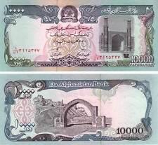 AFGHANISTAN BANKNOTE 10,000 AFGHANIS X1 UNC 1993