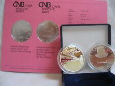 La república checa 2008 200 coronas moneda de plata coin pp proof-viktor ponrepo -