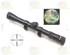 Rifle Scope Telescopic Sight 4 X 20 For Rifles Crossbows Airsoft Air Rifles NEW