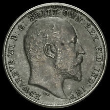 More details for 1902 edward vii silver matt proof maundy fourpence