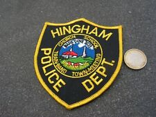 PATCH POLICE ECUSSON COLLECTION  USA   police  hingham
