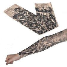 1x Unisex Temporary Fake Slip On Tattoo Arm Sleeves Kit New Fashion High Quality