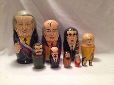 RUSSIAN TSARS LEADERS PORTRAITS  RUSSIAN MATRYOSHKA NESTING DOLL 10