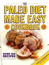 The Paleo Diet Made Easy Cookbook, 0600629988, New Book