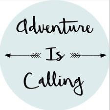 Voiture decal sticker adventure travel camping camper caravane citation