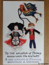 c1914 To the Children of France Good-Luck and Victory - A Nos Enfants de France