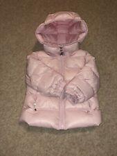 Ted Baker bébé fille nouveau-né Combinaison de ski rose pâle en fourrure synthétique RRP £ 60