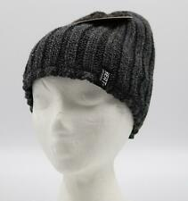 HEAT LOCKERS Thermal Hat Mens One Size Gray Insulated Lining Winter Headwear NWT