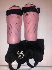 Adidas Soccer adi Club Pink ShinGuards Shin Small Fits Girls Ladies Women New