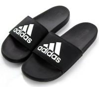 Adidas Adilette Comfort Black & White Slides Men's (Size: 12) CG3425
