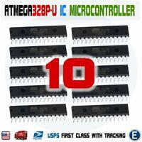 10pcs ATmega328P-U IC Atmel Chip ATmega328P DIP28 MCU Arduino IC ATmega328 USA