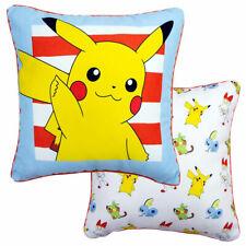Pokemon - Pikachu - Kissen 40x40 cm mit Paspelumrandung 2 Seitig