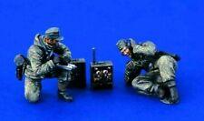 Equipo de radio alemana 1:35 Guerra Mundial 2 (Segunda Guerra Mundial) 2 Figuras de Resina modelo kit