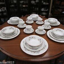 ROYAL STANDARD DAWN DINNERWARE SET 36 pc SERVICE FOR 6 FINE BONE CHINA ENGLAND