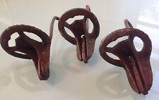 Antique Vintage Cast Iron Snow Birds / Snow Guards