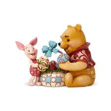 Disney Jim Shore Winnie the Pooh & Piglet Easter Spring Surprise Figurine