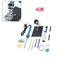 14in1 Electric Soldering Iron Gun Welding Repair Tool Kit Set 40W 110V