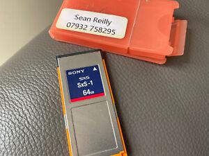 Sony SxS 64gb SBS64G1A