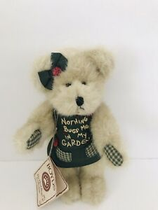 "Boyds Bears Plush The Head Bean Collection ""Potsley"" Thinkin' of Ya Series 9""NWT"