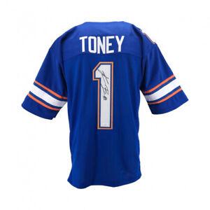 Kadarius Toney Signed Florida Gators Jersey (JSA COA) 2021 1st Rd Pck NY Giants