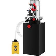 6L Hydraulikaggregat, Hydraulik Pumpe 12 V Volt Doppeltwirkende Metall Anhänger