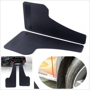 Universal Plastic Car Mudflaps Wheel Moulding Fender Mudguard Custom Accessories